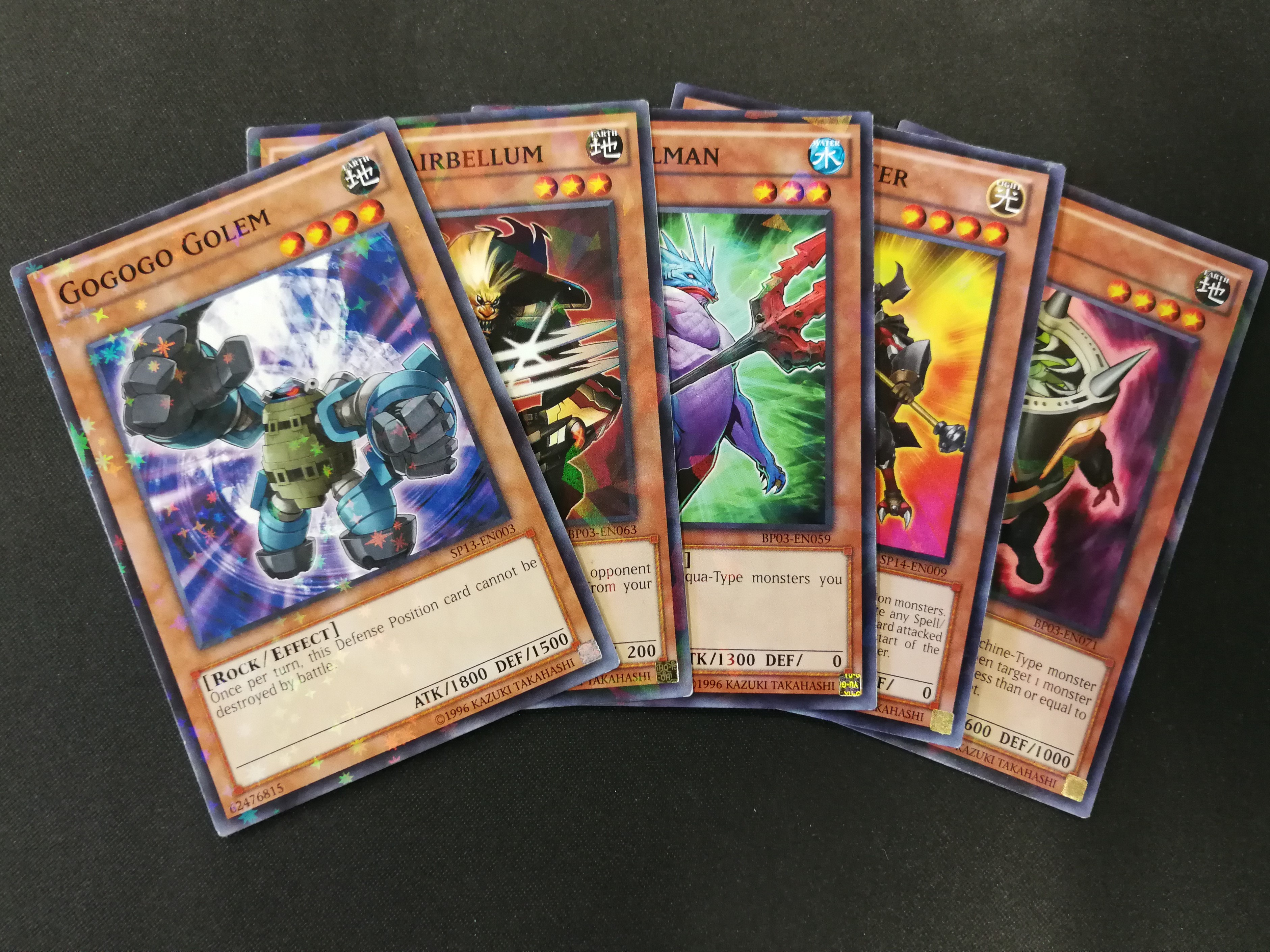 Random Yu-Gi-Oh! Starfoil, Mosaic & Shatterfoil Rare Card