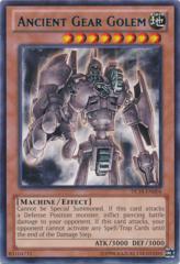 Ancient Gear Golem - Blue - DL18-EN004 - Rare - Unlimited Edition