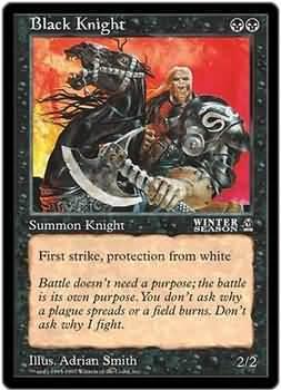 Black Knight - Oversized Promo