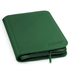 Ultimate Guard 4-Pocket Zipfolio XenoSkin -  Green