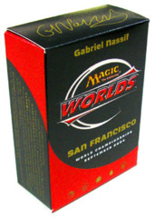 2004 Gabriel Nassif World Champ Deck