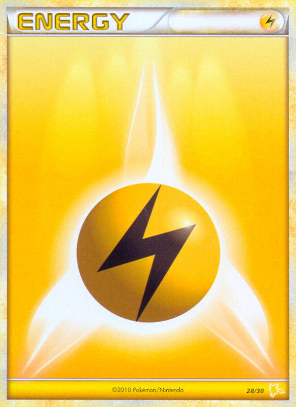 Lightning Energy - 28/30 - XY Trainer Kit (Raichu)