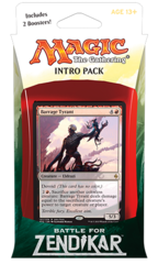 Battle for Zendikar Intro Pack - Eldrazi Assault (R/B)