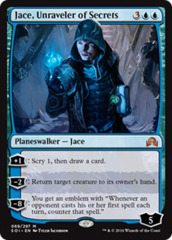Jace, Unraveler of Secrets - Foil