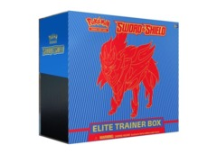 Pokemon Sword & Shield Base Set Elite Trainer Box - Zamazenta (Ships Feb 7)