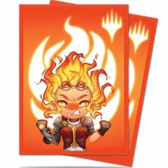 Ultra Pro 100ct Standard Sleeves - Chibi Chandra - Maximum Power