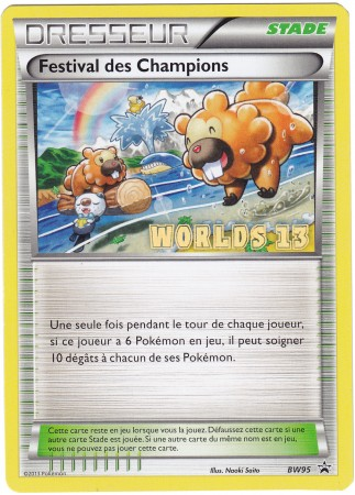 Champions Festival - BW95 - French Worlds - Promotional