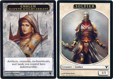 Emblem Elspeth, Knight-Errant // Soldier Token