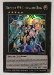 Number S39: Utopia the Lightning - TDIL-DESE2 - Super Rare - Limited Edition (German)