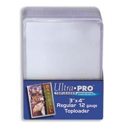 3x4 Single Card Toploader (25ct)