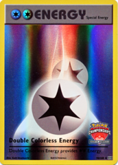 Double Colorless Energy - 90/108 - North America Championships