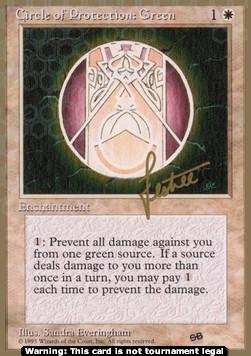 Circle of Protection: Green (Version 1)