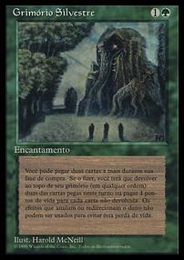 BIBLIOTECA SILVESTRE Verzegelde boosters kaartspellen SYLVAN LIBRARY Magic 4ED Mint