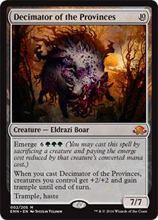 Decimator of the Provinces - Foil