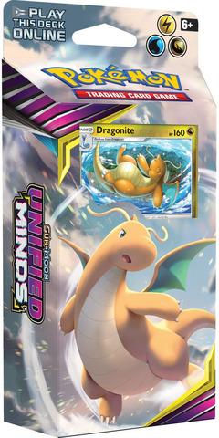 Pokemon Sun & Moon Unified Minds Theme Deck - Dragonite