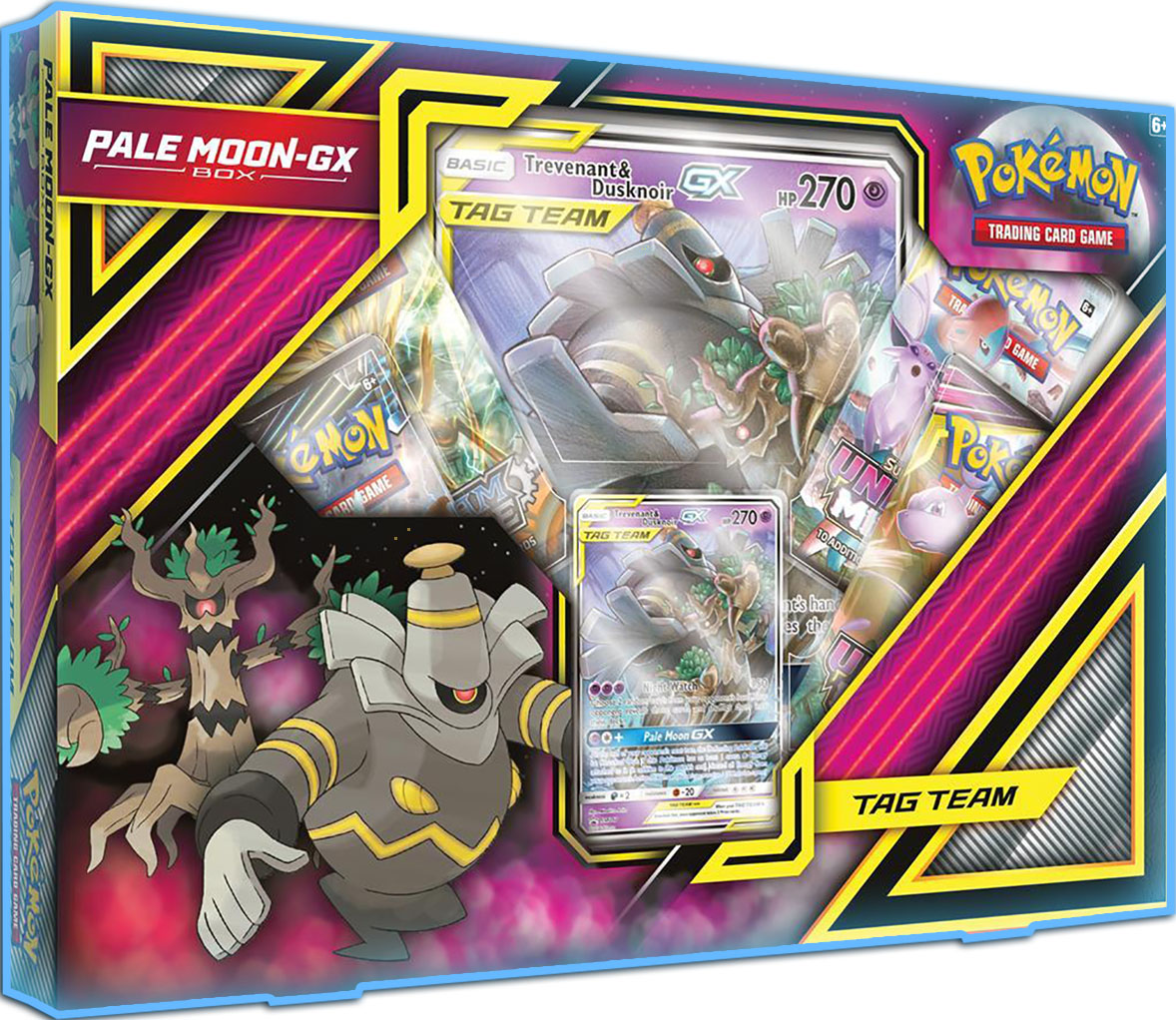 Pale Moon Trevenant/Dusknoir-GX Box