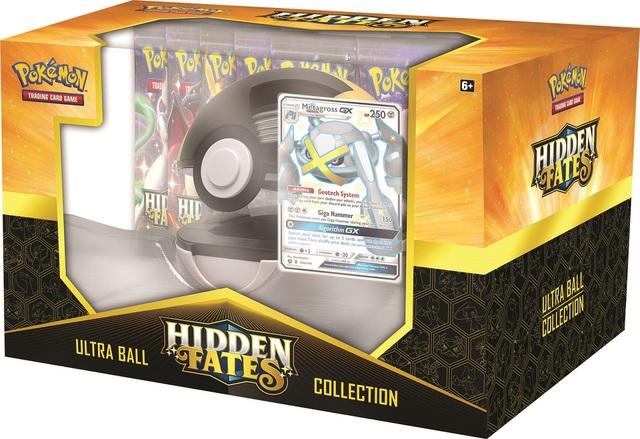 Hidden Fates Pokeball Collection - Metagross GX