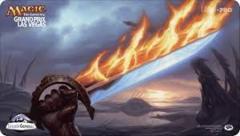 Grand Prix Las Vegas 2013 Ltd. Ed. Playmat (Sword of Fire and Ice)
