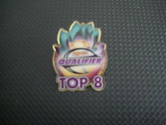 Pro Tour Qualifier Top 8 Pin - Lotus Bloom