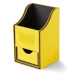 Dragon Shield Yellow/Black Nest+ (with tray) 100+ Deck Box