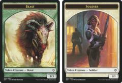 Beast Token (3/3) // Soldier Token
