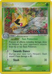 Ninjask - 13/107 - Holo Rare - Reverse Holo