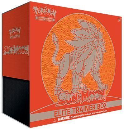 Pokemon Sun & Moon Base Set Elite Trainer Box - Solgaleo