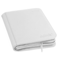 Ultimate Guard 4-Pocket Zipfolio XenoSkin - White