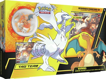 Reshiram and Charizard-GX Figure Collection