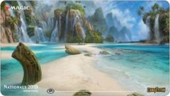 Nationals 2018 Ltd. Ed. Playmat (Flooded Strand)