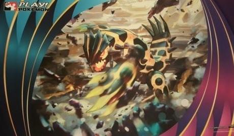 Pokemon Primal Groudon Playmat Gaming Supplies