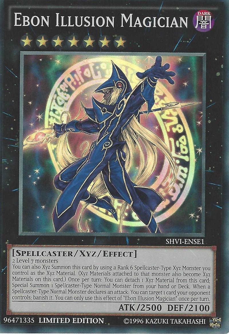 Ebon Illusion Magician - SHVI-ENSE1 - Super Rare - Limited Edition