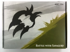Dragons of Tarkir Prerelease Kit - Atarka- Battle with Savagery (Contains 5 Boosters, 1 Seeded Booster, 1 Dice)