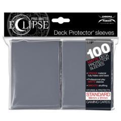 Ultra Pro Pro-Matte Eclipse 100ct Standard Sleeves - Smoke Grey