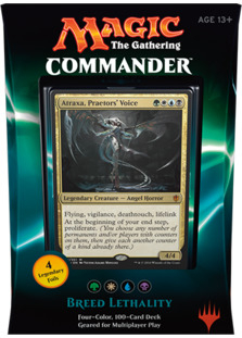 Commander 2016 Deck - Breed Lethality (Green/White/Blue/Black)