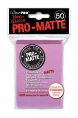 Ultra Pro PRO-Matte 50ct Standard Deck Protectors - Pink