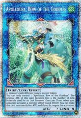 Apollousa, Bow of the Goddess - RIRA-EN048 - Prismatic Secret Rare - 1st Edition