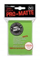 Ultra Pro PRO-Matte 50ct Standard Deck Protectors - Lime Green