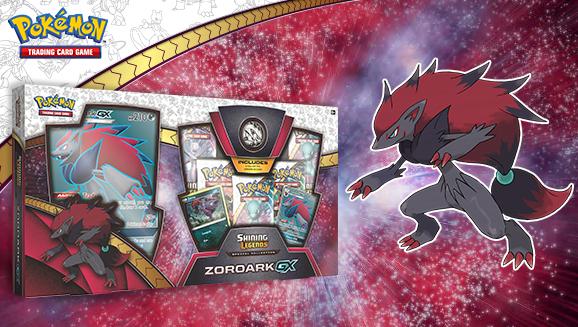 Shining Legends Zoroark-Gx Box
