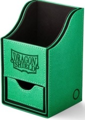Dragon Shield Green/Black Nest+ (with tray) 100+ Deck Box