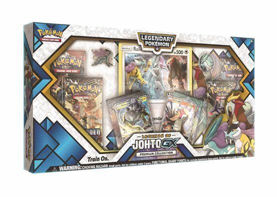 Legends of Johto GX Premium Collection Box