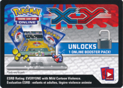 XY Base Set Booster Pack Code