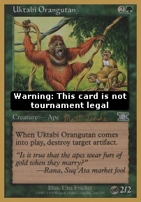 Uktabi Orangutan (Version 2)