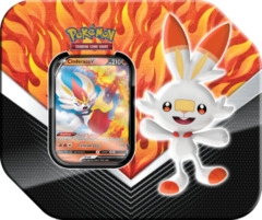 Pokemon Galar Partners Tin - Cinderace V (Ships Feb 27)