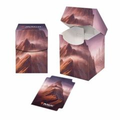 Ultra Pro Unstable Lands 100+ Deck Box - Mountain