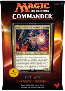 Commander 2016 Deck - Entropic Uprising (Blue/Black/Red/Green)
