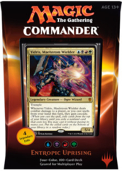 Commander 2016 Deck - Entropic Uprising (Blue/Black/Red/Green)