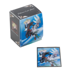 Pokemon Center Deck Case & Shield - Gladion & Silvally