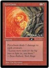 Pyroclasm - Oversized Card