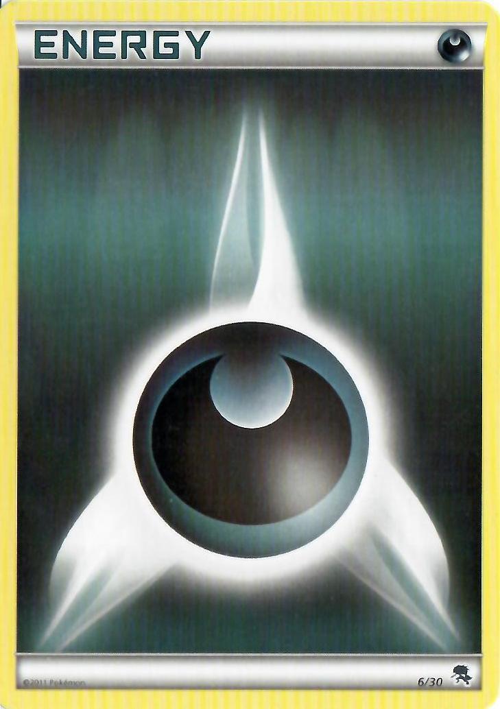 Darkness Energy - 6/30 - BW Trainer Kit (Zoroark)